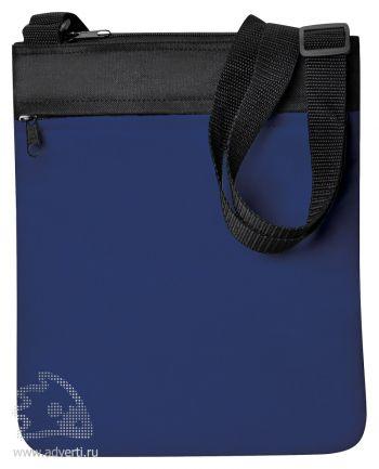 Промо сумка на плечо «Simple», синяя