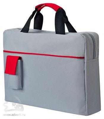Конференц-сумка «Sense», красная