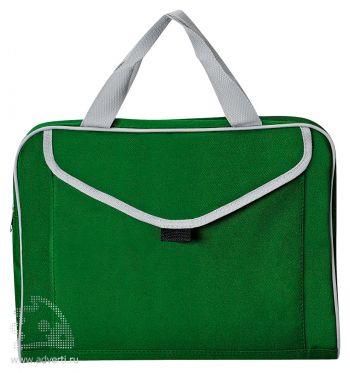 Конференц-сумка «Mail», зеленая