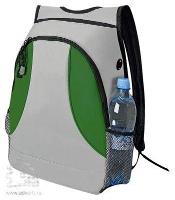 Рюкзак «Game», зеленый, сбоку