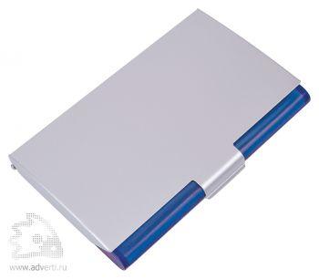 Визитница «Дельта», синий