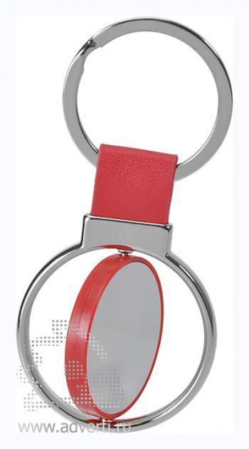 Брелок «Круг вращения», красный