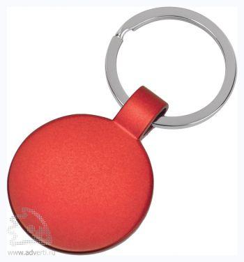 Брелок «Круг», красный