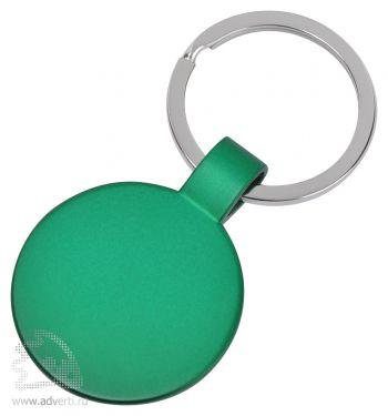 Брелок «Круг», зеленый