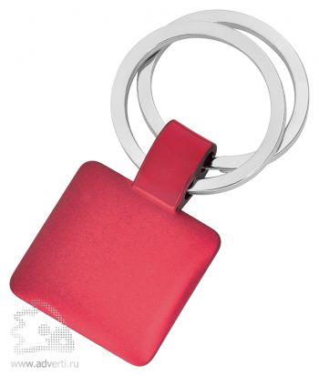 Брелок «Квадрат», красный