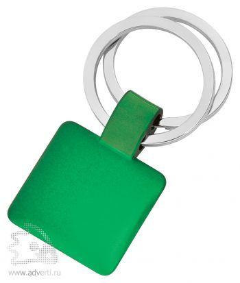 Брелок «Квадрат», зеленый