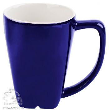 Кружка с рифленым дном «Аджерола», синяя