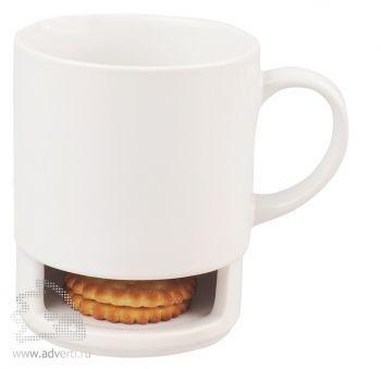 Кружка «Нейве» с отделением для печенья