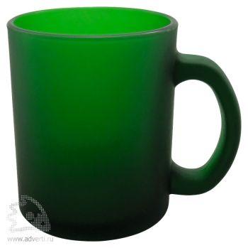 Кружка из матового стекла «Polly», зеленый