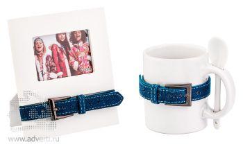 Набор подарочный «Модерн», синий