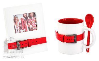 Набор подарочный «Модерн», красный