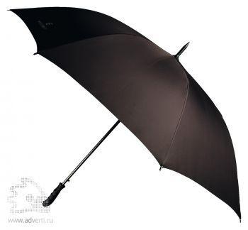 Зонт-трость «Wave» с фигурной ручкой