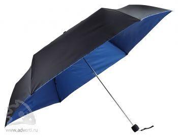 Зонт складной «Витязь», механический, синий