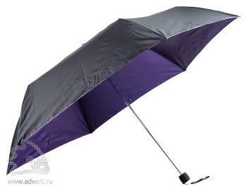 Зонт складной «Витязь», механический, сиреневый