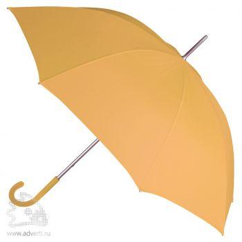 Зонт-трость «Коди», механический, желтый