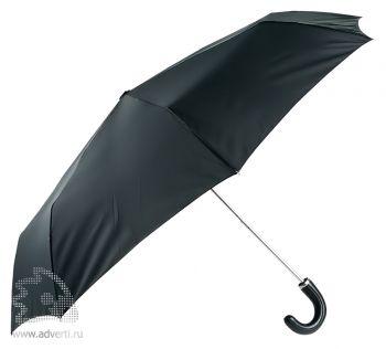 Зонт «Black» складной, механический, 3 сложения