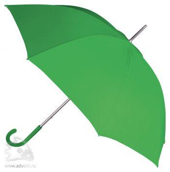 Зонт-трость «Коди», механический, зеленый
