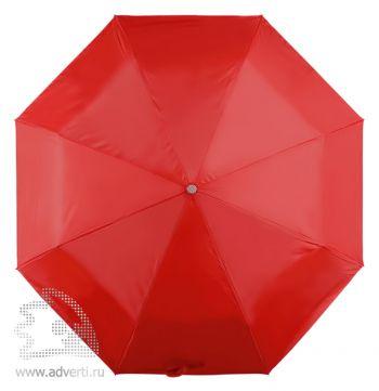 Зонт складной, механический, 3 сложения, дизайн купола