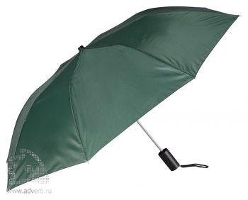 Зонт складной «Андрия», полуавтомат, 2 сложения, зеленый