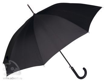 Зонт-трость «Алтуна», полуавтомат, черный