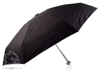 Зонт складной «Гримо», механический, 5 сложений, черный