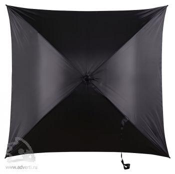 Зонт-трость 4-х клиный «Старка», механический, черный