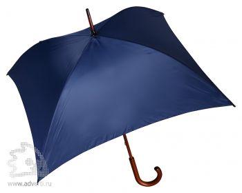 Зонт-трость 4-х клиный «Старка», механический, синий