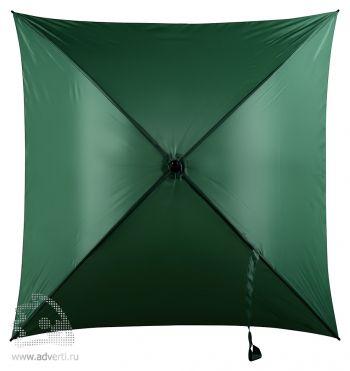 Зонт-трость 4-х клиный «Старка», механический, зеленый