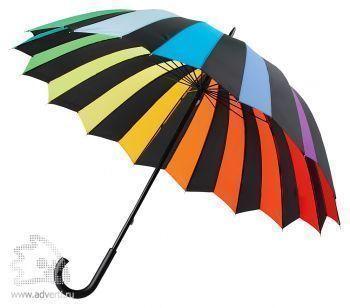 Зонт-трость «Радуга», механический