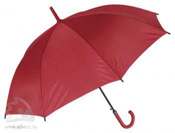 Зонт-трость «Мигель», автомат, красный