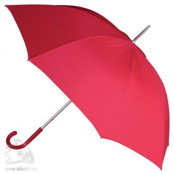 Зонт-трость «Коди», механический, красный