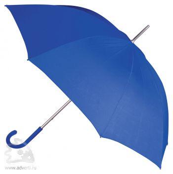 Зонт-трость «Коди», механический, синий