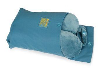 Подушка «Tranquility Pillow», синяя, в чехле