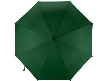 Зонт-трость «Радуга», полуавтомат, зеленый