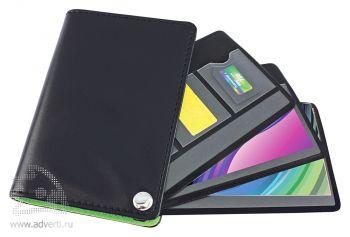 Футляр для пластиковых карт, визиток, карт памяти и SIM-карт, внутренний дизайн