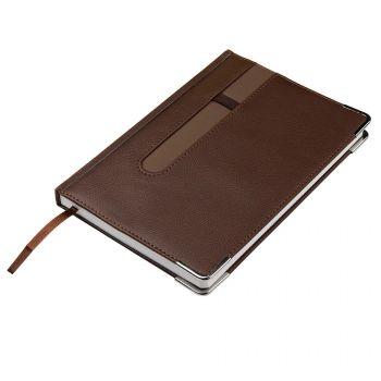 Ежедневник недатированный «ASTON» А5, коричневый