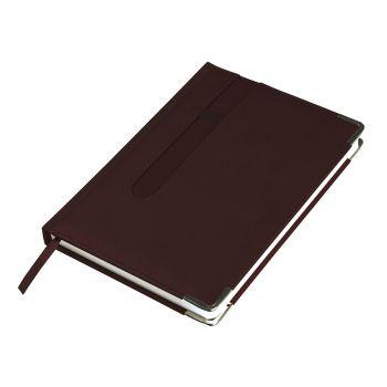 Ежедневник недатированный «ASTON» А5, темно-бордовый