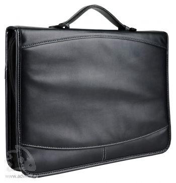 Конференц-портфель для документов с отделением для нетбука и блокнотом