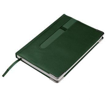 Ежедневник недатированный «ASTON» А5, зеленый