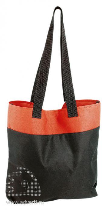 Хозяйственная сумка «Household», черный с красным