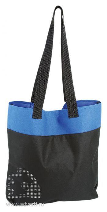 Хозяйственная сумка «Household», черный с синим