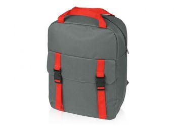 Рюкзак «Lock» с отделением для ноутбука, красный