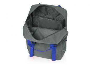 Рюкзак «Lock» с отделением для ноутбука, синий, открытый