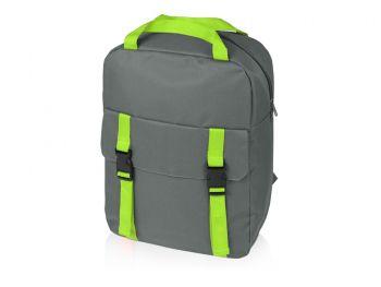 Рюкзак «Lock» с отделением для ноутбука, зеленый