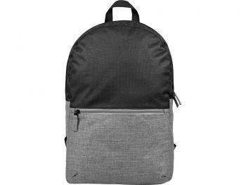 Рюкзак «Suburban» с отделением для ноутбука, серый меланж, спереди