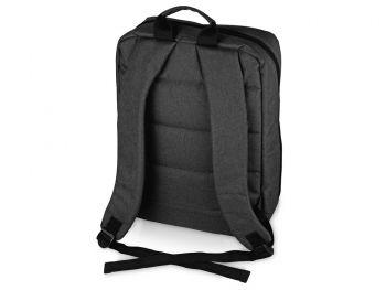 Бизнес-рюкзак «Soho» с отделением для ноутбука, темно-серый, сзади