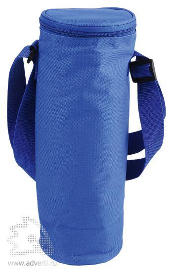 Сумка-холодильник для бутылки «Амбрен», синяя