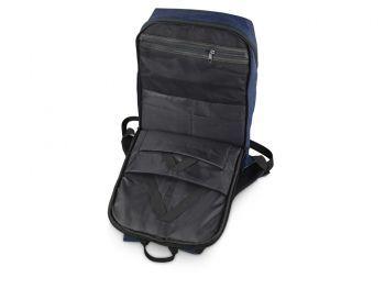 """Рюкзак «Bronn» с отделением для ноутбука 15.6"""", синий, открытый"""