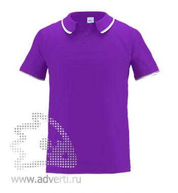 Рубашка поло «Stan Trophy», мужская, фиолетовая