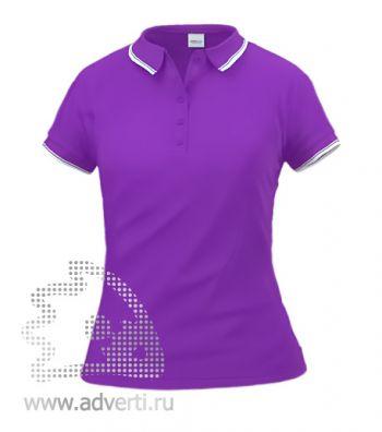 Рубашка поло «Stan Trophy W», женская, фиолетовая